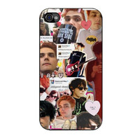 gerard way collage iPhone 4 4s 5 5s 5c 6 6s plus cases