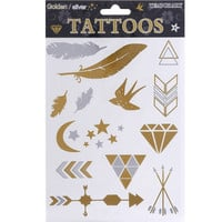 Cai Flash Temporary Tattoo Sheet