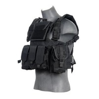 Lancer Tactical CA-307B Modular Chest Rig in Black