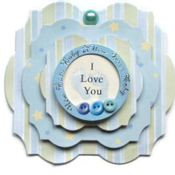 baby boy, Scrapbook embellishment, Paper piecing, paper flower, gift tags, Scrapbooking Layouts, Cards, Mini Albums Paper Crafts