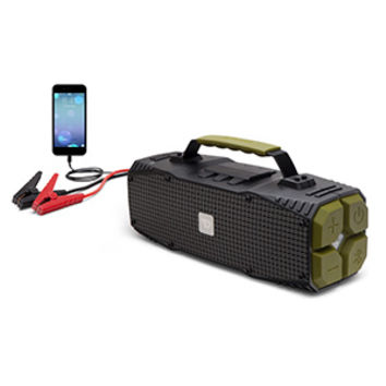 Survivor 30W Bluetooth Speaker with Car Jumpstarter