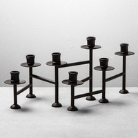 Candelabra Candle Holder - Black - Hearth & Hand™ with Magnolia