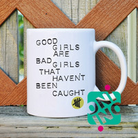 5 Seconds Of Summer Good Girl Coffee Mug, Ceramic Mug, Unique Coffee Mug Gift Coffee