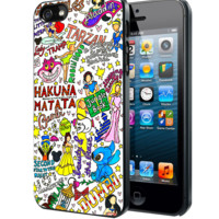 All Disney Princesses Collage Samsung Galaxy S3 S4 S5 Note 3 case, iPhone 4 4S 5 5s 5c case, iPod Touch 4 5 case