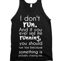 Black Tank | Funny Athletic Shirts