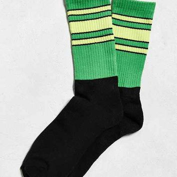 Striped Colorblock Sock