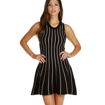 Navy Hanger Striped Dress