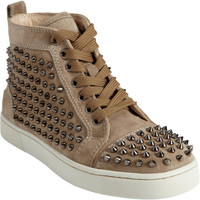 Christian Louboutin Louis Spikes Flat at Barneys New York at Barneys.com