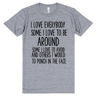 PUNCH IN THE FACE   T-Shirt   SKREENED