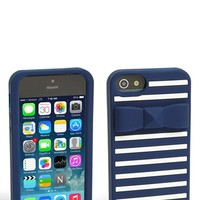 kate spade new york 'stud bow stripe' iPhone 5 & 5S case | Nordstrom