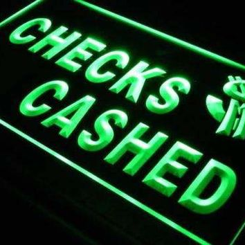 Checks Cashed Neon Sign (LED)