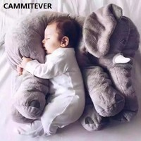 CAMMITEVER Cushion Elephant Plush Pillow Animal Toys Funny Elephants Doll Children Toy Girl Kids Pillows For Sofas Home Cushions
