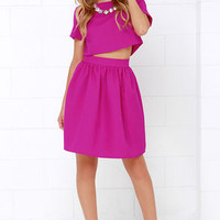 You and Me Magenta Two-Piece Dress