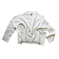 Drop Shoulder Oversized Woollen Sweater