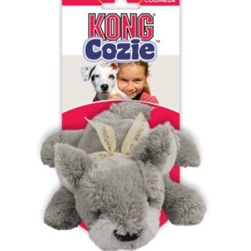 Kong Cozie Buster The Squirrel, Medium Dog Toy, Grey
