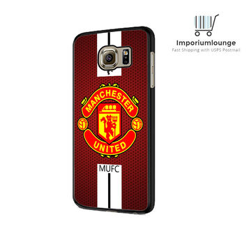 Manchester United Logo Samsung Galaxy S6 Edge Case