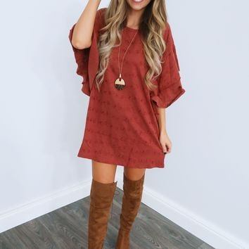 Saving Grace Dress: Terracotta