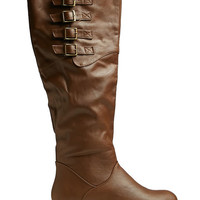 Multiple Strap Tall Boot