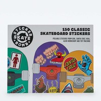 Stickerbomb Skateboard: 150 Classic Skateboard Stickers - Urban Outfitters