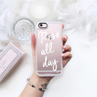 Lovely iPhone 6s & 6s Plus Case (Rose ? All Day Pattern) by Casetify