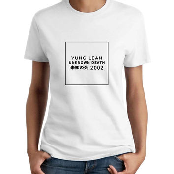 Yung Lean Unknown Death 2002 Woman T-Shirt
