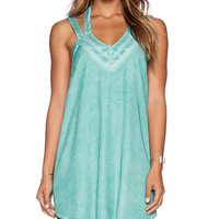 RVCA Tunnel Vision Dress in Green