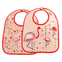 Flamingo Bib Set