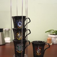 Harry Potter-Stackable house Crest Mugs