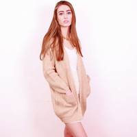 Lovers Beige Cardigan