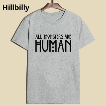 American Horror Story All Monsters Are Human T-Shirt