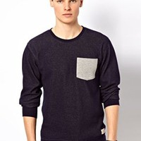 Minimum One Pocket Sweatshirt at asos.com