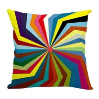Car Decorative Cushions Cover Geometry Art Decor Throw Pillow Covers New