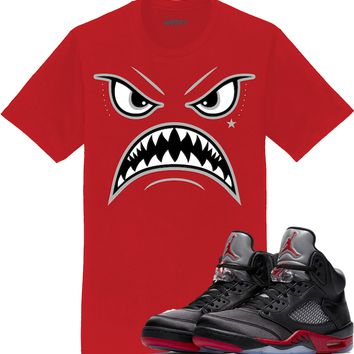 Jordan 5 Satin Sneaker Tees Shirt to Match - OREO WARFACE