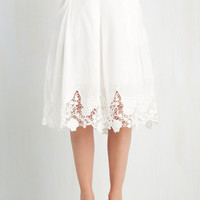 ModCloth Boho Long A-line Team Edwardian Skirt