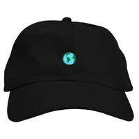 Planet Earth Dad Hat