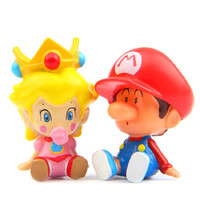 Super Mario Figure Toy Super Mario & Princess PVC Action Figures Toys Collection Model Toys Christmas Gifts For Kid