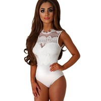 Stay Beautiful Lace Bodysuit