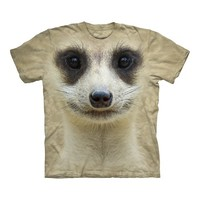 Big Face Meerkat T-Shirt