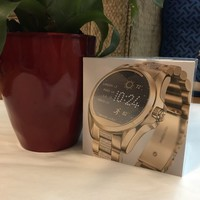 MK smart watch gold brand new with sealed Michael Kors