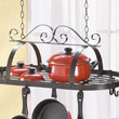 Hanging Pot and Pan Holder Kitchen Decor