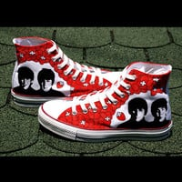 SALE Beatles Converse shoes - hand painted