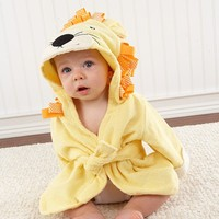 Lion Hooded Spa Robe - Available Late Feb.