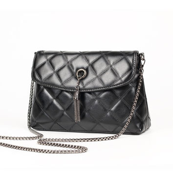 Classics Stylish Casual Leather Chain One Shoulder Bags [6581873607]