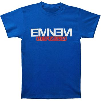 Eminem Men's  Berzerk & New Logo T-shirt Blue Rockabilia