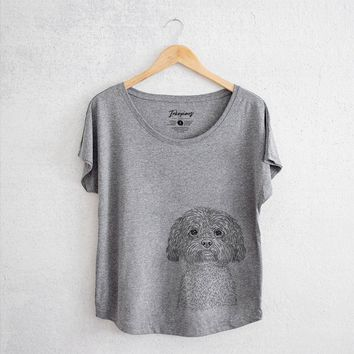 Lane the Lhasa Apso - Women's Dolman Shirt