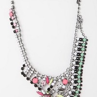 Riviera Rhinestone Bib Necklace