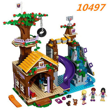Bela 10497 Friends Adventure Camp Tree House Building Block set