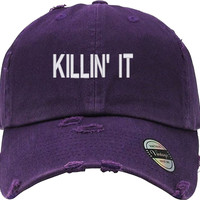 KILLIN IT Distressed Baseball Hat