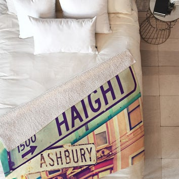 Shannon Clark Haight Ashbury Fleece Throw Blanket