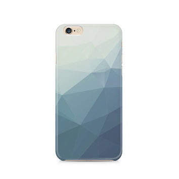 Slate Blue Grey Geometric Pattern cell phone case, Cool, Triangle, Polygon, Mens, Womens, Samsung Galaxy, Note, 6, 6 plus, 5, 4 etc